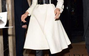 what was she wearing zendaya belted coat 1