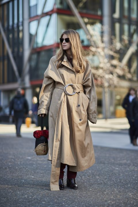 how can you make an old trench coat feel fresh again 1