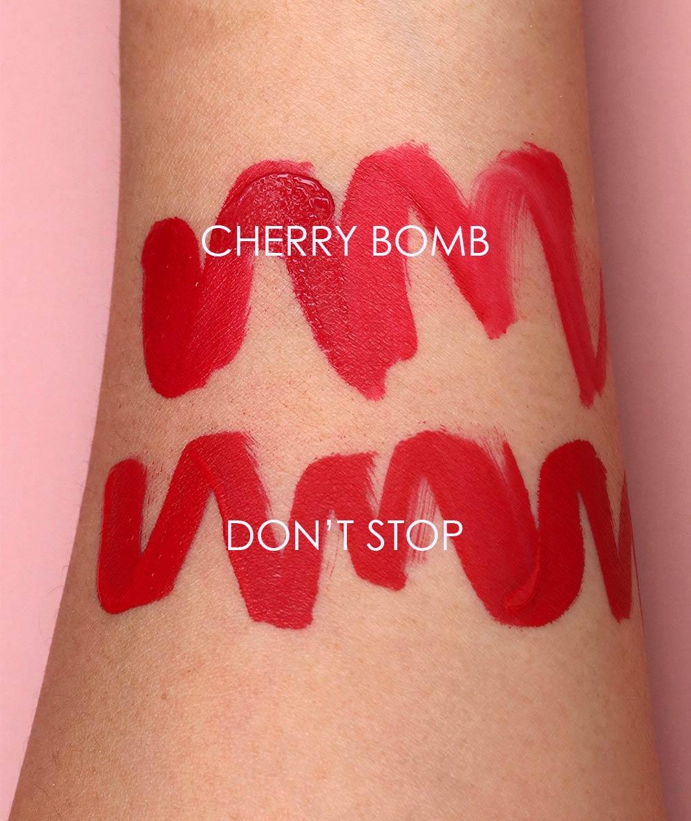 nars cherry bomb dont stop powermatte swatches 1