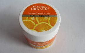 Natures Essence Natures Organic Oriental Orange N Lime Hand Cream Feature