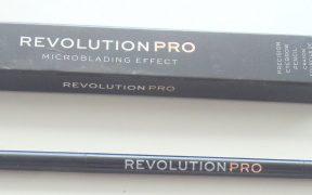 1534882203 Revolution Pro Microblading Effect Precision Eyebrow Pencil Dark Brown Review