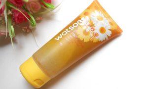 Watsons Chamomile and Aloe Vera Scented Body Scrub Review