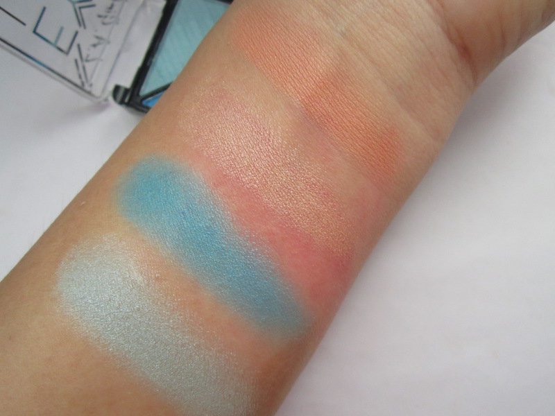 LA Girl Eye Lux Eyeshadow Tropicalize swatches
