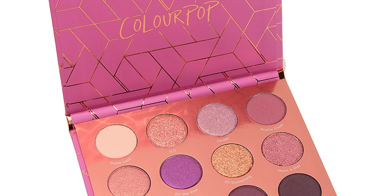 colour pop sweet nothings 001 palette