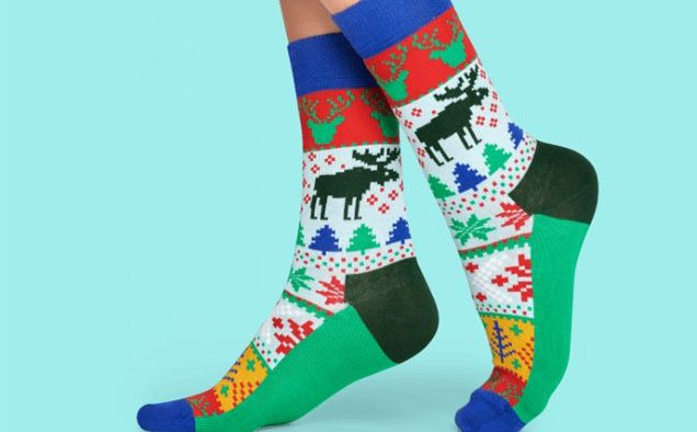 holiday socks l
