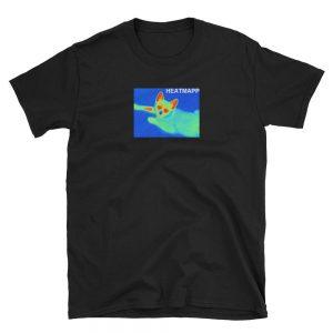 heat mapp clothing black shirt
