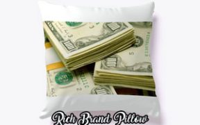 rich brand pillow
