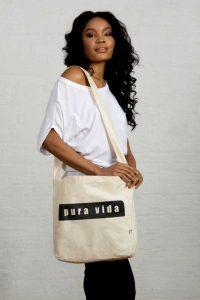 Pura Vida Pure Life Organic Cotton Eco Bag