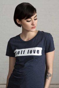 Women's Self Love Organic Cotton & RPET T-shirt