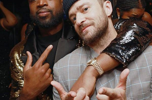 rs x Dwayne Wade Justin Timberlake LT GettyImages