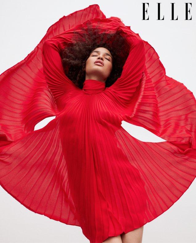 US Elle June 2019 : Indya Moore by Zoey Grossman