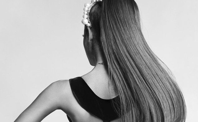 Ariana Grande Givenchy landscape cropped