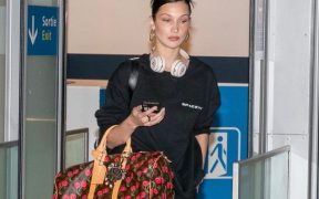 Bella Hadid Airport Style landscape cropped