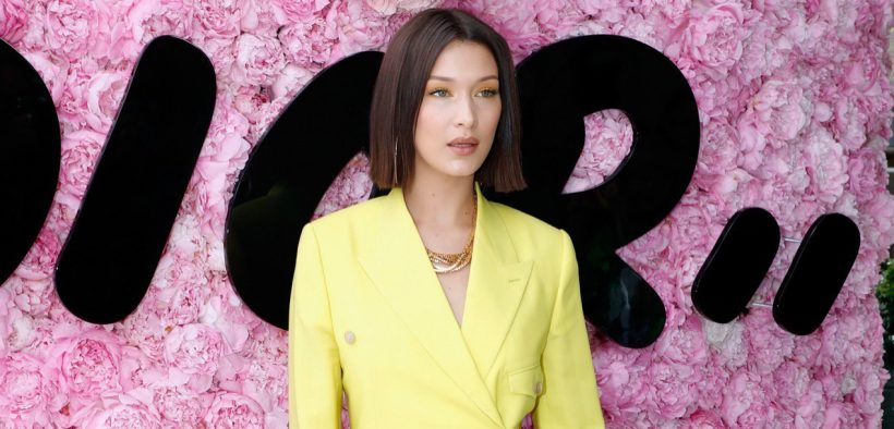 Bella Hadid Dior Homme Show Marquee landscape cropped