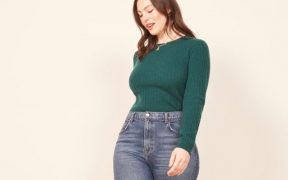 Reformation Liza High Straight Jean Es landscape cropped
