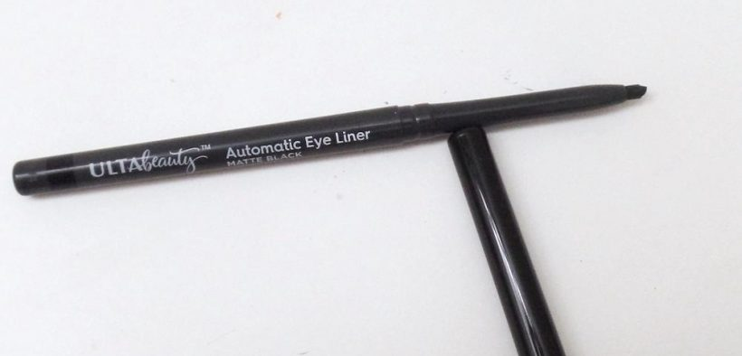 Ulta Beauty Automatic Eyeliner Matte Black Review