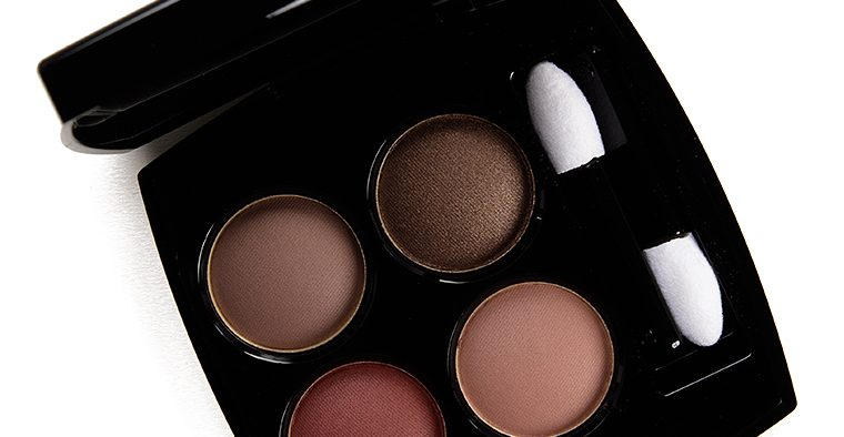 chanel blurry mauve palette