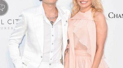 rs x Brandon Lee Pamela Anderson amfar LT GettyImages