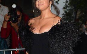 rs x Selena Gomez Sightings NYC LT BGUS