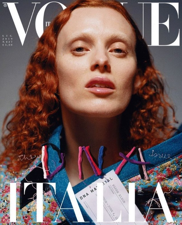 Vogue Italia July 2019 : The'DNA' Issue by Alasdair McLellan, Theo Sion & Harley Weir