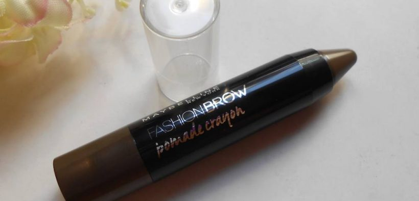 Maybelline Fashion Brow Pomade Crayon Mocha Review