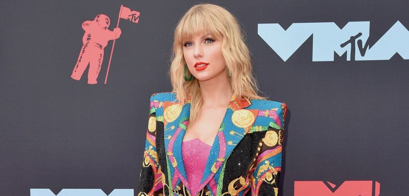 Taylor Swift MTV VMAs Marquee landscape cropped