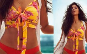 Katrina Kaif exudes summer vibes in a bikini top watch video x