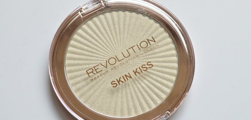 Revolution Beauty Skin Kiss Ice Kiss Highlighter Review