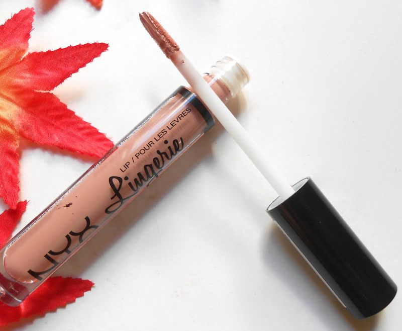 NYX Lip Lingerie Liquid Lipstick Satin Ribbon open