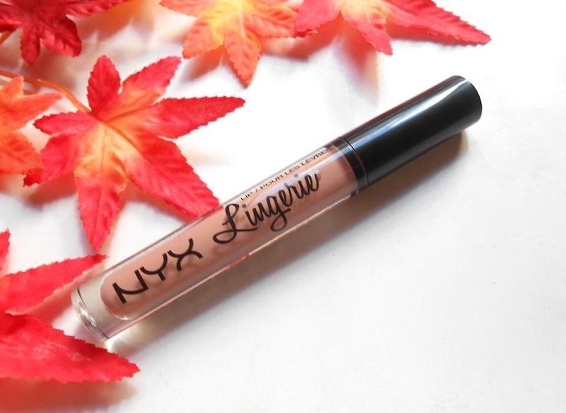 NYX Lip Lingerie Liquid Lipstick Satin Ribbon tube