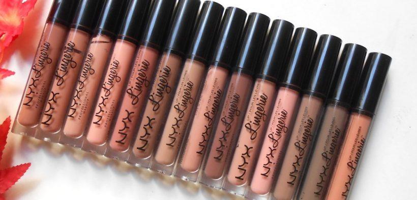 NYX Lip Lingerie Liquid Lipstick Satin Ribbon Review
