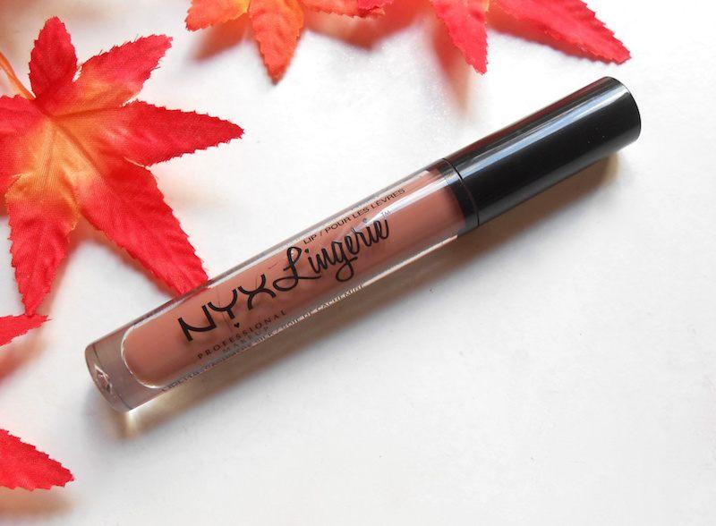 NYX Lip Lingerie Liquid Lipstick Cashmere Silk