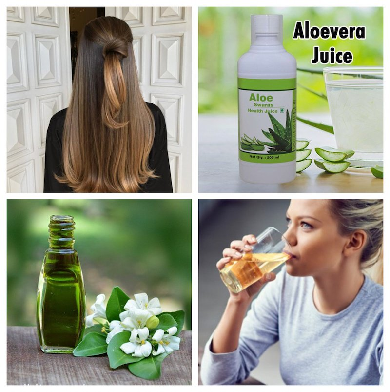 Herbal Hair Tonics to Drink for Hair Loss