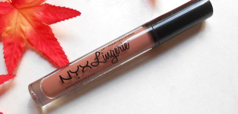 NYX Lip Lingerie Liquid Lipstick Cashmere Silk Review