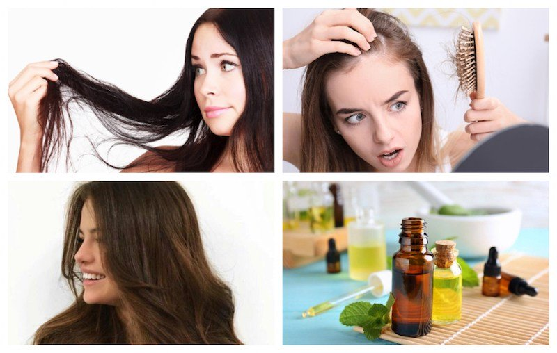 Essential Oils to Stop Hair Thinning