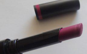 bareMinerals BarePro Longwear Lipstick Petunia Review