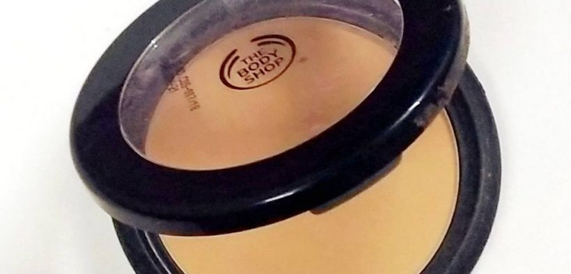 The Body Shop Matte Clay Powder Review