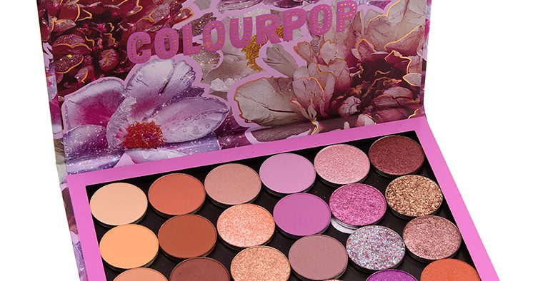 colour pop butterfly curated palette