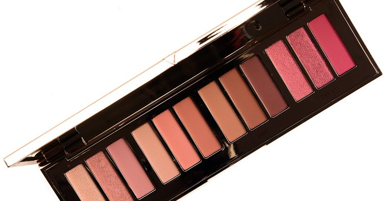 Charlotte Tilbury Pillow Talk Eyeshadow Palette Review amp Swatches