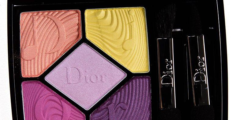 dior pink vibration palette