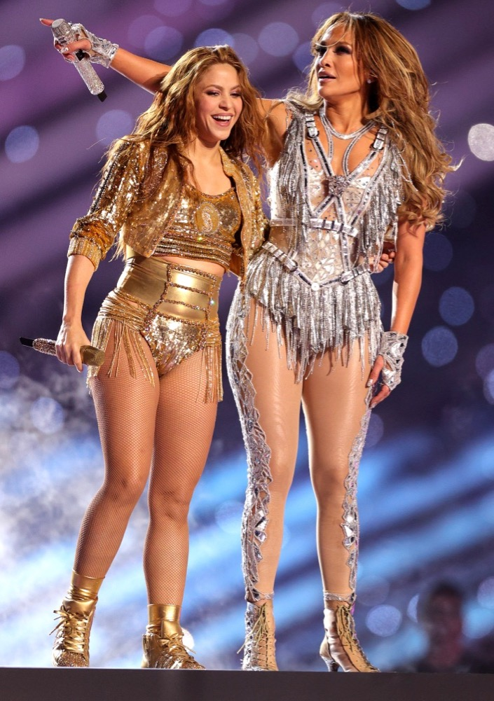 Shakira and Jennifer Lopez 2020 Super Bowl